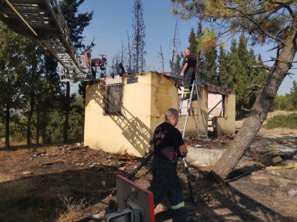 Kocaeli'de çıkan ev yangını söndürüldü