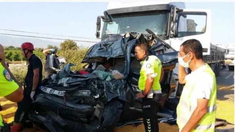 Manisa'da feci kaza 4 ölü