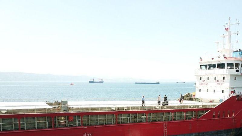 Kocaeli'de Kovid-19 vakası tespit edilen geminin mürettebatı karantinaya alındı