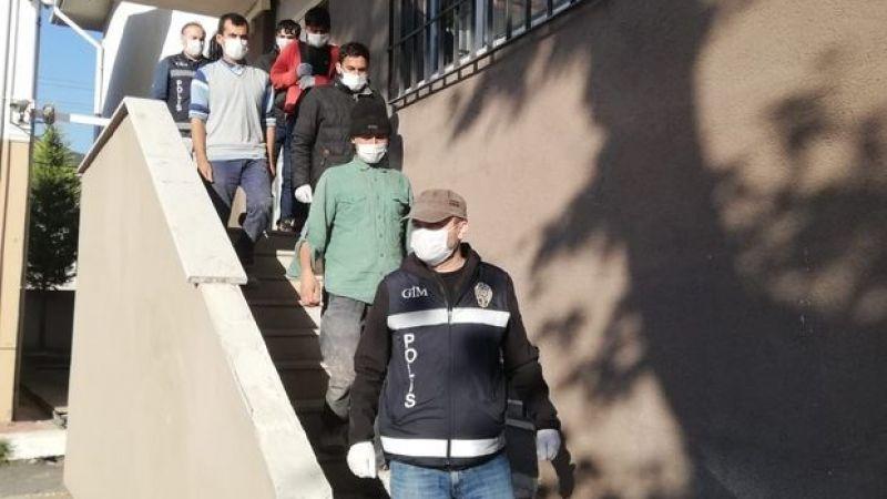 Kocaeli'de 4 düzensiz göçmen yakalandı