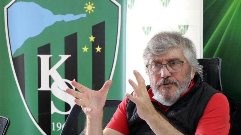 Kocaelispor öncelikle TFF 1. Lig'de kalıcı olmak istiyor