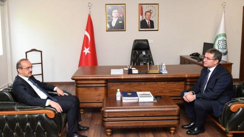 Kocaeli Valisi Yavuz'dan ziyaretler