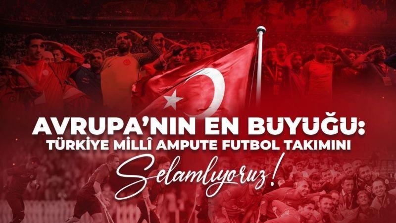 Türkiye Avrupa Şampiyonu