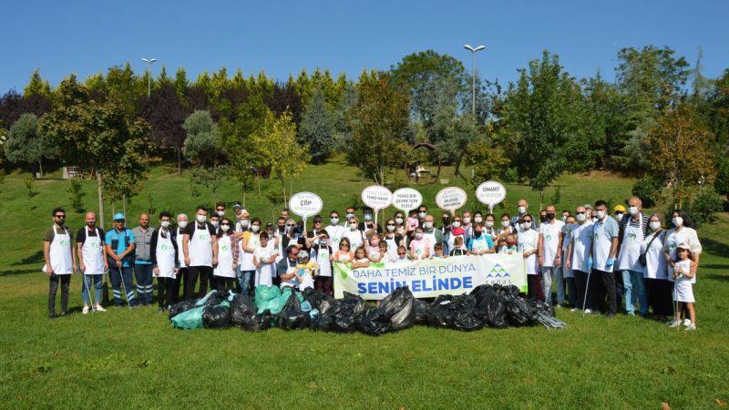 Sakarya Elektrik Dağıtım AŞ gönüllüleri Kocaeli'de çevre temizliği yaptı