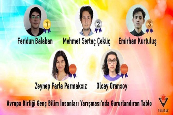 Türkiye 16 yıl sonra AB Genç Bilim İnsanları Yarışması'ndaki ilk birinciliğini aldı