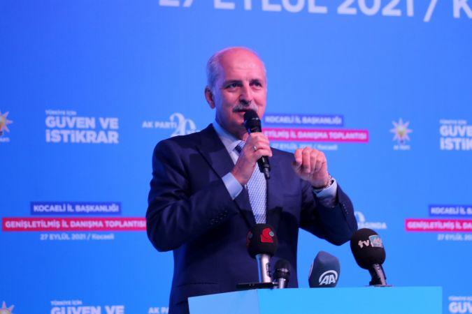 AK Parti Genel Başkanvekili Kurtulmuş, Kocaeli'de il danışma meclisi toplantısında konuştu:
