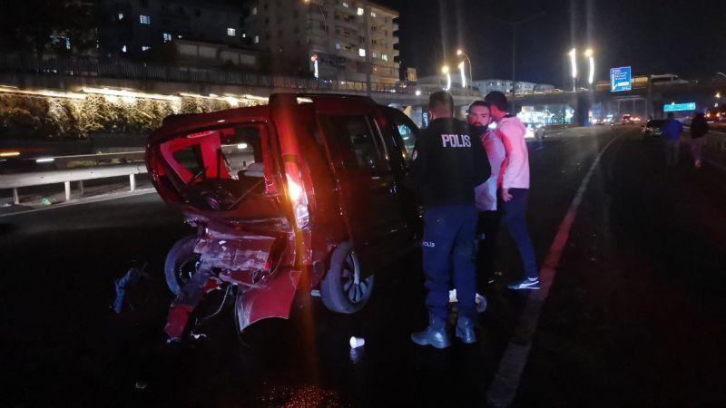 Kocaeli'deki zincirleme trafik kazasında 7 kişi yaralandı