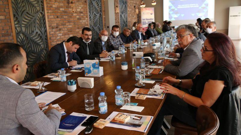 KO-MEK ve Halk Eğitim'den iş birliği toplantısı