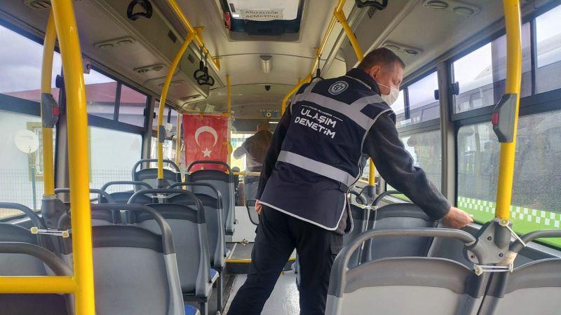 Kocaeli'de toplu taşıma araçlarına denetim