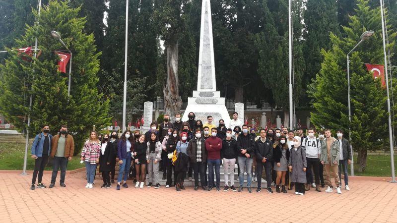 KOÜ'nün yeni öğrencileri Kocaeli'yi Gez Gör ile tanıyor