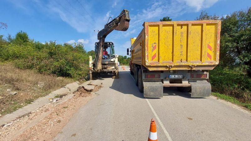 Kandıra'da altyapı hatları ve depo çalışmaları devam ediyor