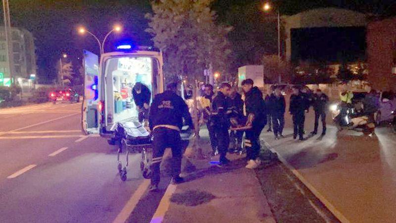 Karamürsel'de motosiklet ile otomobil çarpıştı