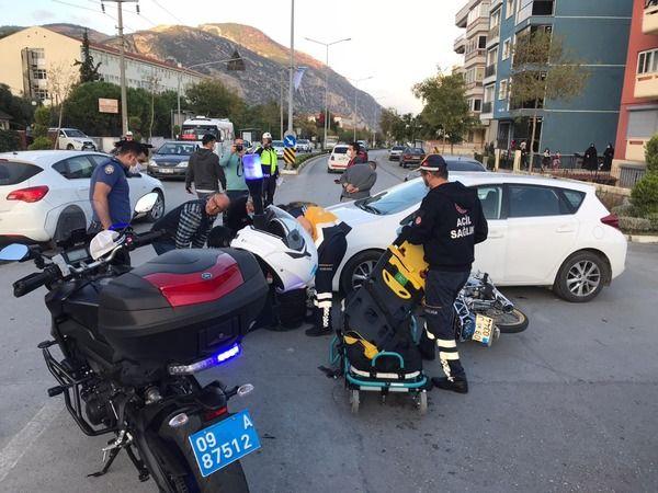 Söke'de trafik kazası