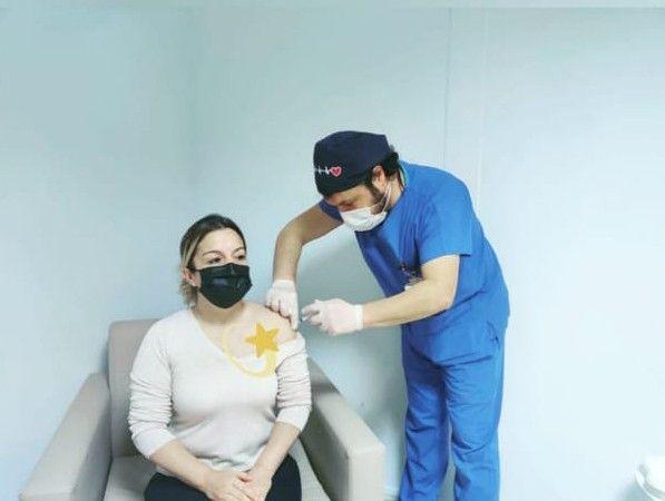 İlk aşıyı Başhekim Kuyucu yaptı