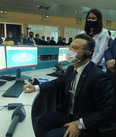 Vali Aksoy'dan 112 Acil Çağrı Merkezi'ne ziyaret