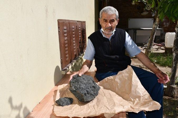 Söke'de meteor taşı iddiası