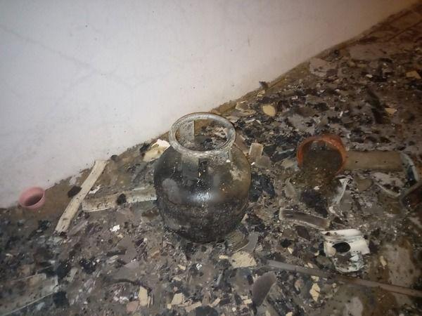 Aydın'da mutfak yangını