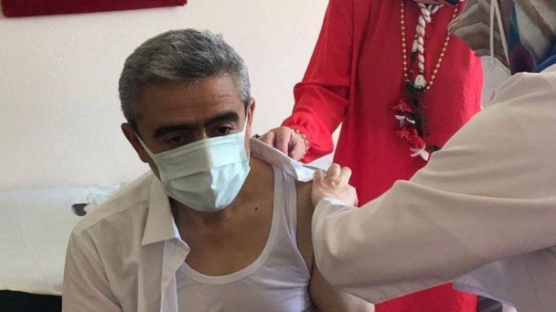 Alıcık aşı oldu