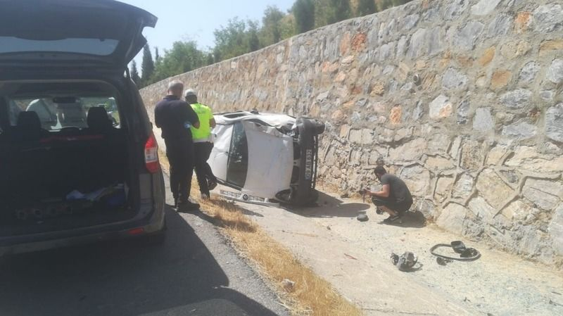 Çine'de trafik kazası