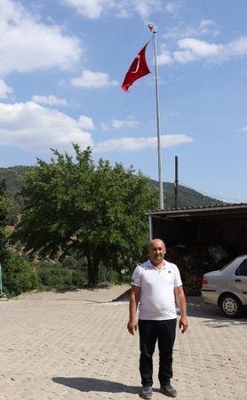 Nazilli'de dev Türk bayrağı