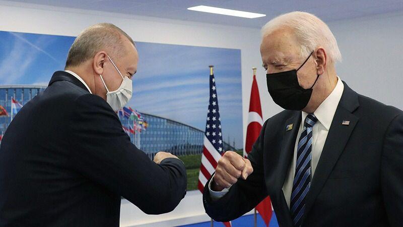 Erdoğan ve Biden görüştü!