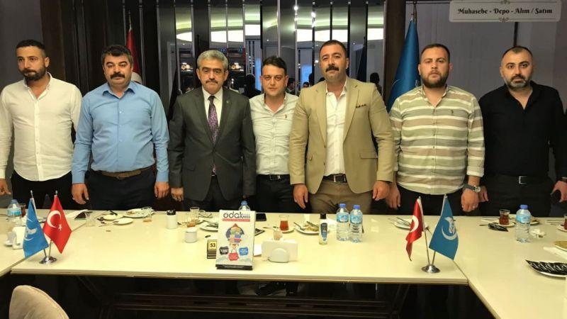 Aydın Ülkü Ocakları İlçe Başkanları Toplandı