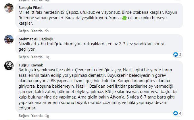 NAZİLLİ OTOBAN İSTİYOR
