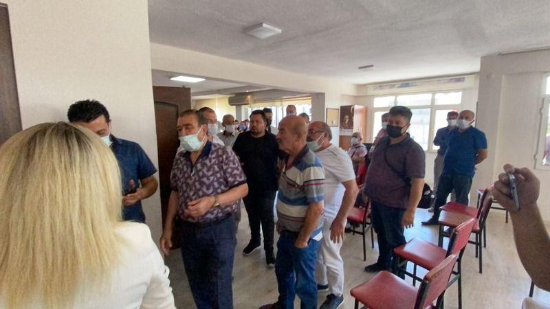 CHP Nazilli'de sinirler gerildi