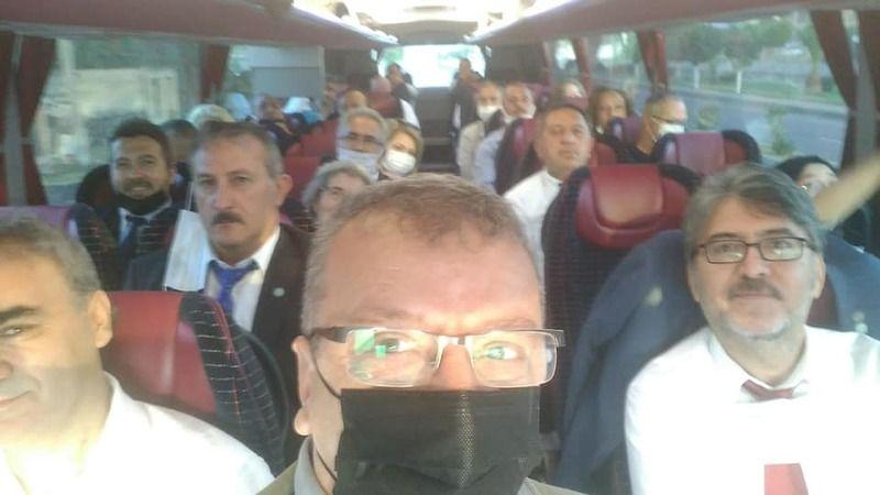 İYİ Parti Afyon yolcusu