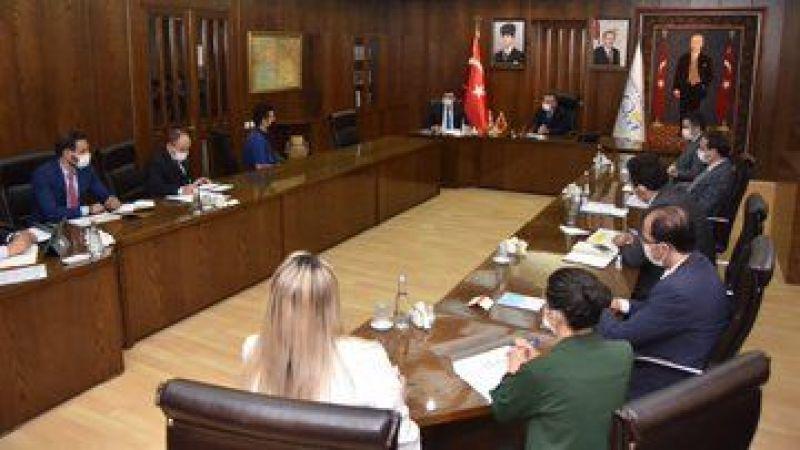 Vali Aksoy, vatandaşları makamında ağırladı