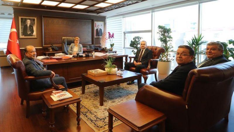 AK Partili vekillerden Bakan Yanık'a ziyaret