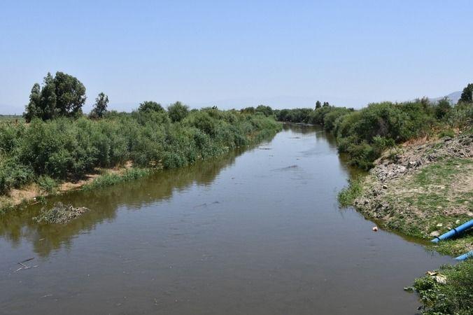 Büyük Menderes suya kavuştu