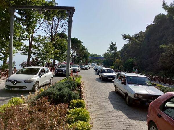 Milli Park'ta Cumartesi yoğunluğu