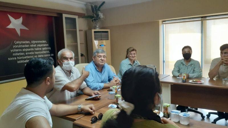 AK Partili Posacı Söke'de üreticilerle buluştu
