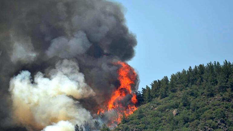 Marmaris'teki yangından üzücü haber
