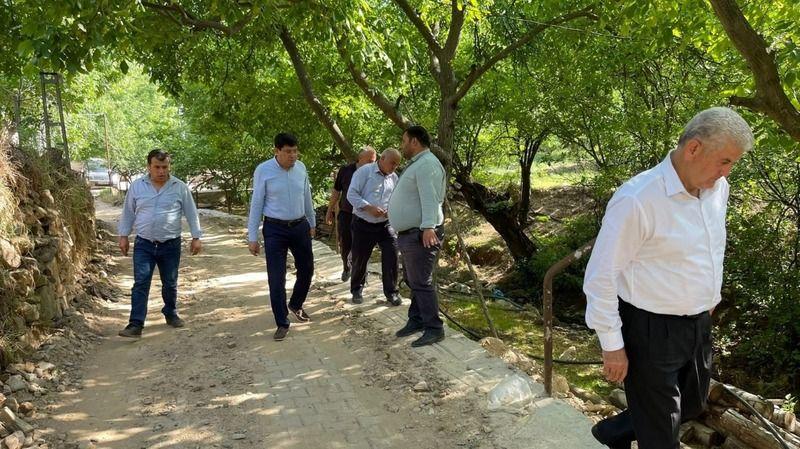 Başkan Özcan'dan Aksu'ya ziyaret