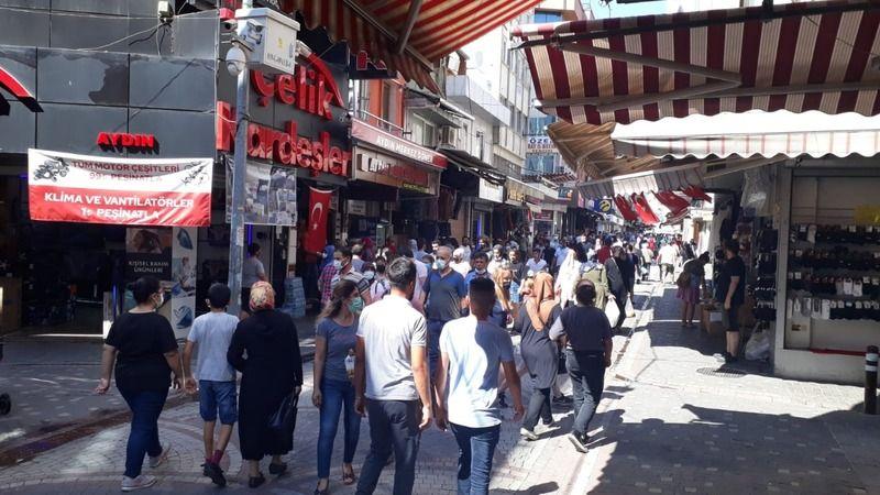 Aydın'da bayram öncesi yoğunluk