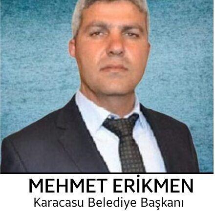 Karacasu'da yeni başkan Mehmet Erikmen