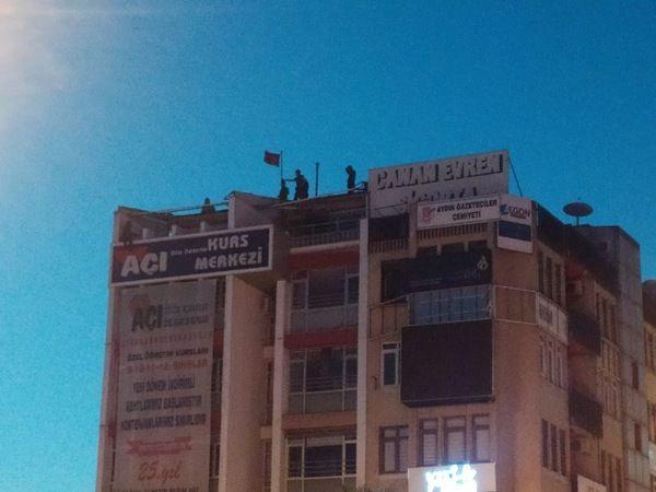 Aydın'da sıcak saatler