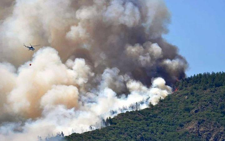 Turizmcinin gözü orman yangınlarında
