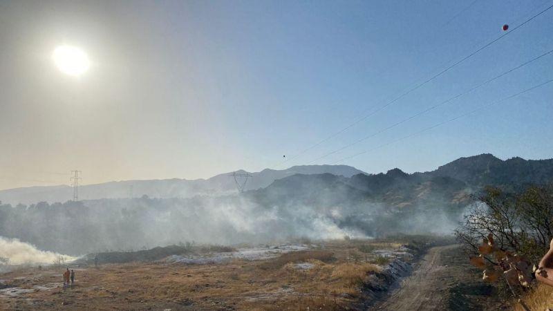 Atça'daki yangın kontrol altında