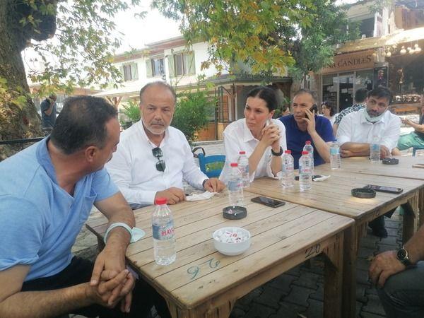 AK Partili Yavuz, Marmaris'te