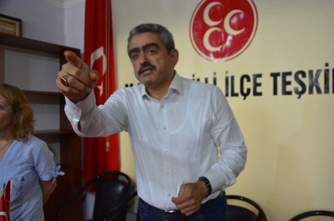 MHP'li Alıcık'tan iç ayaklanma uyarısı