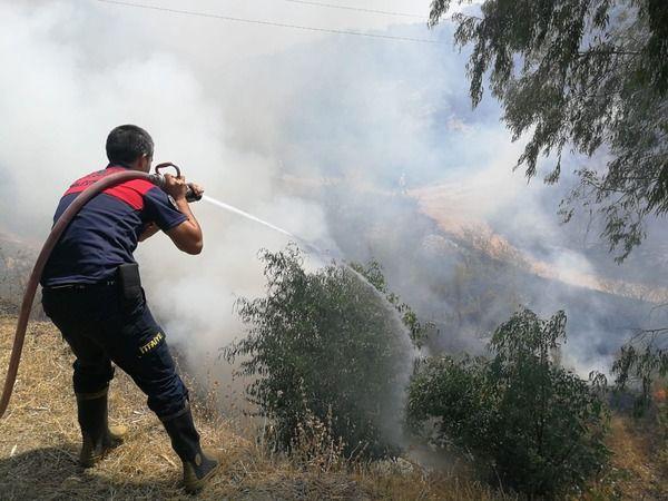 Nazilli'deki yangında sabotaj şüphesi