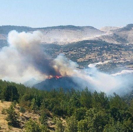 Yangın devam ediyor