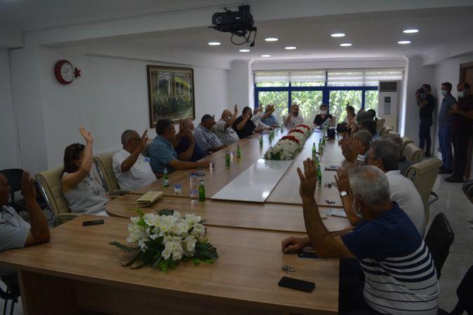 İncirliova'da meclis toplantısı