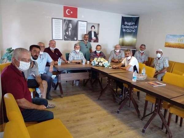 İYİ Partili Çıray'dan Söke'ye ziyaret