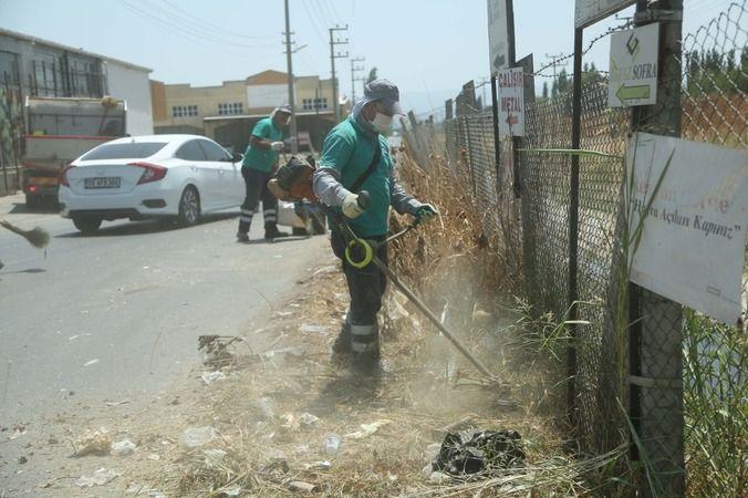 Efeler Belediyesi'nden temizlik ve bakım çalışması