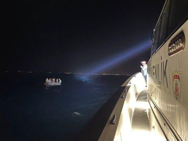 Aydın'da 14 düzensiz göçmen kurtarıldı
