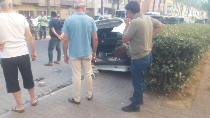 Nazilli'de trafik kazası